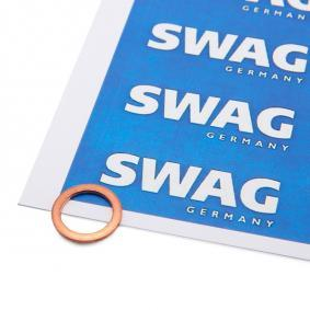 buy and replace Seal, oil drain plug SWAG 20 92 7532