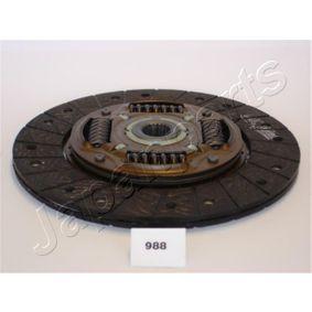 Αγοράστε JAPANPARTS Δίσκος συμπλέκτη DF-988 οποιαδήποτε στιγμή