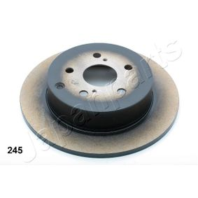 Brake Disc DP-245 JAPANPARTS Secure payment — only new parts