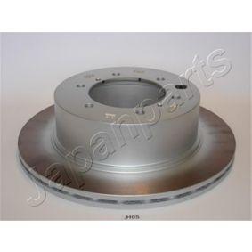 Bremsscheibe von JAPANPARTS - Artikelnummer: DP-H05