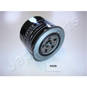 Pērc un aizvieto Eļļas filtrs JAPANPARTS FO-502S