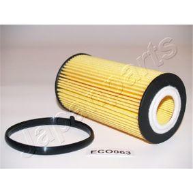 Filtro de óleo FO-ECO063 com uma excecional JAPANPARTS relação preço-desempenho