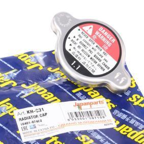 Bouchon de radiateur KH-C31 JAPANPARTS Paiement sécurisé — seulement des pièces neuves