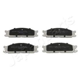 комплект спирачно феродо, дискови спирачки PA-137AF с добро JAPANPARTS съотношение цена-качество