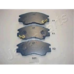 acheter JAPANPARTS Kit de plaquettes de freins de haute performance PA-527P à tout moment