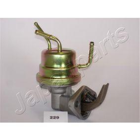 Pompa carburante JAPANPARTS PB-229 comprare e sostituisci