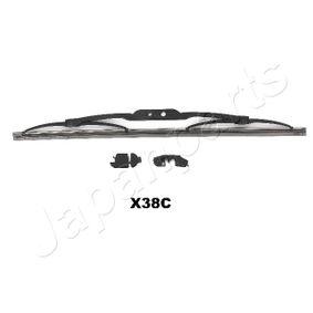 Comprar y reemplazar Limpiaparabrisas JAPANPARTS SS-X38C