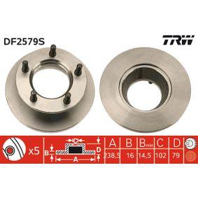Compre e substitua Disco de travão TRW DF2579S