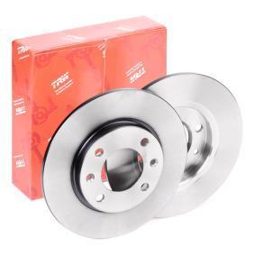 Disque de frein DF2581 à un rapport qualité-prix TRW exceptionnel