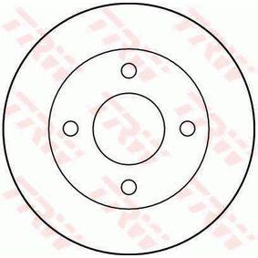 TRW Disco de travão DF2726