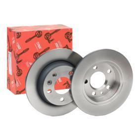 stabdžių diskas DF2777 su puikiu TRW kainos/kokybės santykiu