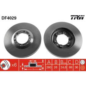 Achetez et remplacez Disque de frein DF4029