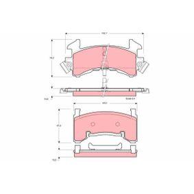 ABS 38202 Pastillas de Freno