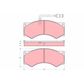 Achat de Kit de plaquettes de frein, frein à disque TRW GDB5054