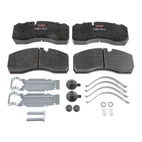 Buy TRW Brake Pad Set, disc brake GDB5072