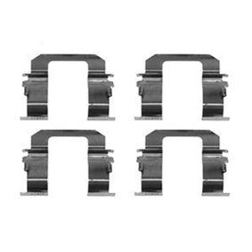 kit d 39 accessoires plaquette de frein disque pour opel. Black Bedroom Furniture Sets. Home Design Ideas