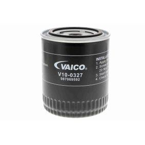 Filtro olio VAICO V10-0327 comprare e sostituisci