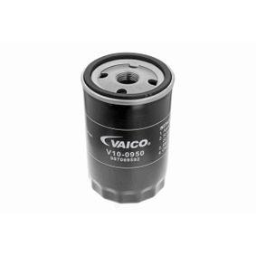 Filtro de óleo V10-0950 com uma excecional VAICO relação preço-desempenho