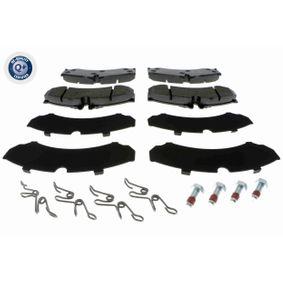 4 Bremsbelagsatz Hinterachse Scheibenbremse LPR 05P633 MERCEDES-BENZ VW