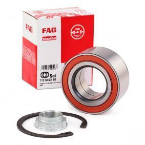 Kit cuscinetto ruota 713 6492 80 con un ottimo rapporto FAG qualità/prezzo