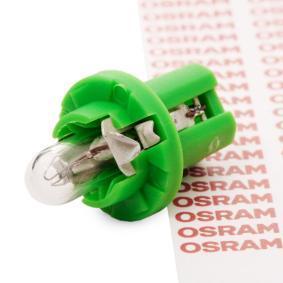 Rendeljen 2722MF OSRAM izzó, műszerfal világítás terméket most