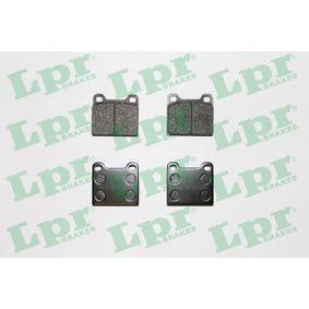 Compre e substitua Jogo de pastilhas para travão de disco LPR 05P024