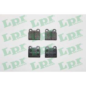 Compre e substitua Jogo de pastilhas para travão de disco LPR 05P025