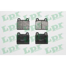 Compre e substitua Jogo de pastilhas para travão de disco LPR 05P026