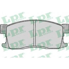 Brake Pad Set, disc brake 05P081 for HONDA cheap prices - Shop Now!