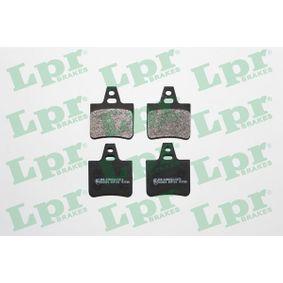 Compre e substitua Jogo de pastilhas para travão de disco LPR 05P133