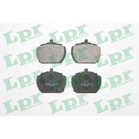 Compre e substitua Jogo de pastilhas para travão de disco LPR 05P143