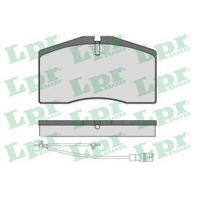 Sada brzdových destiček, kotoučová brzda 05P1585A pro PORSCHE nízké ceny - Nakupujte nyní!