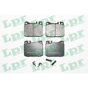 Sada brzdových destiček, kotoučová brzda 05P211A pro MERCEDES-BENZ nízké ceny - Nakupujte nyní!