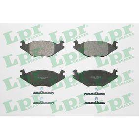 комплект спирачно феродо, дискови спирачки LPR 05P223 купете и заменете