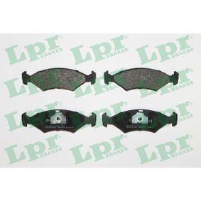 комплект спирачно феродо, дискови спирачки LPR 05P233 купете и заменете