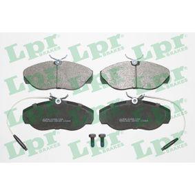 купете LPR комплект спирачно феродо, дискови спирачки 05P397 евтино