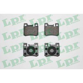 LPR комплект спирачно феродо, дискови спирачки 05P397