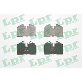 Brake Pad Set, disc brake 05P397 for FERRARI cheap prices - Shop Now!