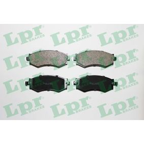 комплект спирачно феродо, дискови спирачки 05P563 с добро LPR съотношение цена-качество