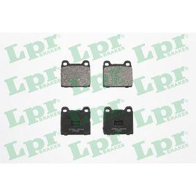Compre e substitua Jogo de pastilhas para travão de disco LPR 05P659