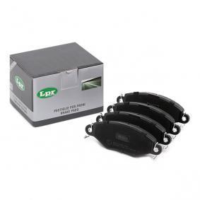 Jogo de pastilhas para travão de disco 05P708 com uma excecional LPR relação preço-desempenho