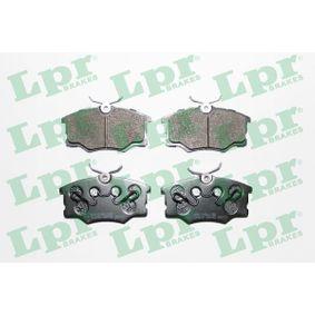 комплект спирачно феродо, дискови спирачки 05P762 за OPEL ниски цени - Купи сега!