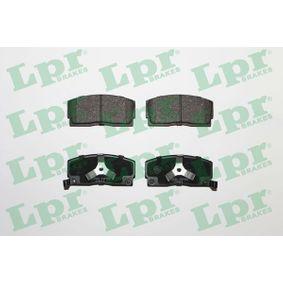 Brake Pad Set, disc brake 05P926 for DAIHATSU cheap prices - Shop Now!
