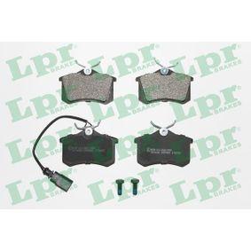 комплект спирачно феродо, дискови спирачки 05P980 с добро LPR съотношение цена-качество