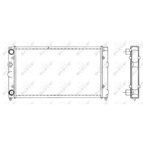 NRF Chłodnica, układ chłodzenia silnika 519501 kupować online całodobowo