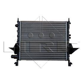 Radiateur, refroidissement du moteur 519513 NRF Paiement sécurisé — seulement des pièces neuves