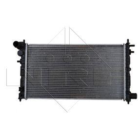 Radiateur, refroidissement du moteur 58068 NRF Paiement sécurisé — seulement des pièces neuves