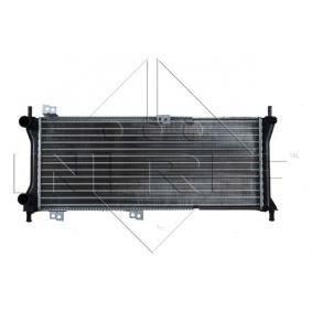 Radiatore, Raffreddamento motore 58225 con un ottimo rapporto NRF qualità/prezzo
