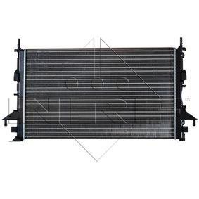 Radiatore, Raffreddamento motore 58318 con un ottimo rapporto NRF qualità/prezzo