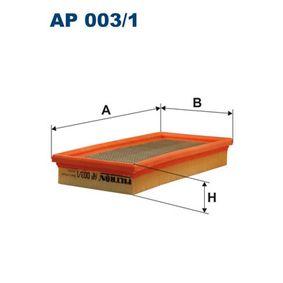 въздушен филтър FILTRON AP003/1 купете и заменете